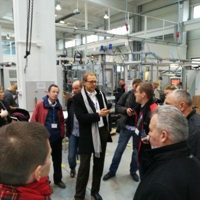 Wizyta dziennikarzy zagranicznych w Tarnowskim Klastrze Przemysłowym oraz Gminie Brzesko